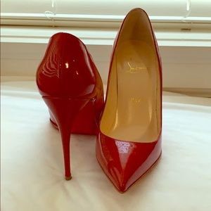 Red louboutin heels